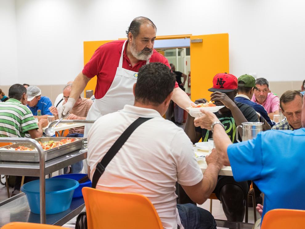 Durante el 2017, la Hermandad del Refugio atendió más de 1.500 personas.