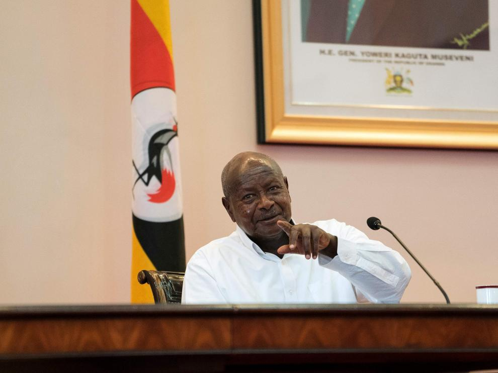 Yoweri Museveni, presidente de Uganda