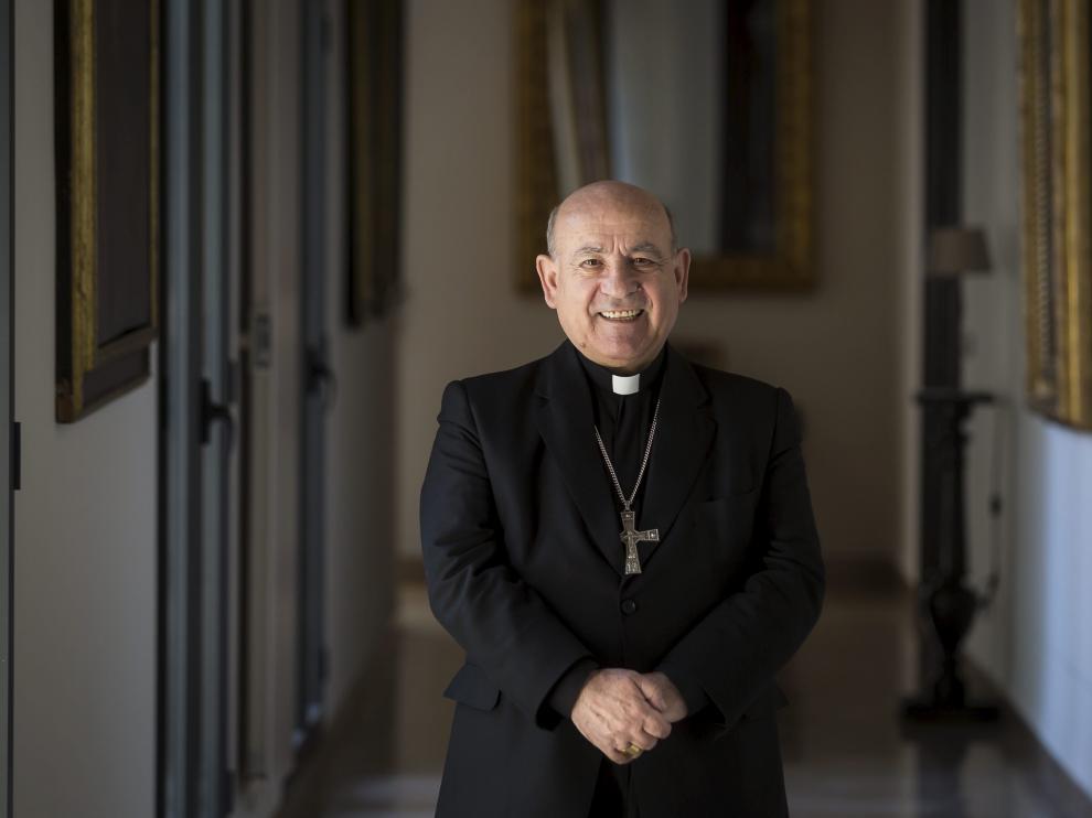 Vicente Jiménez, arzobispo de Zaragoza.