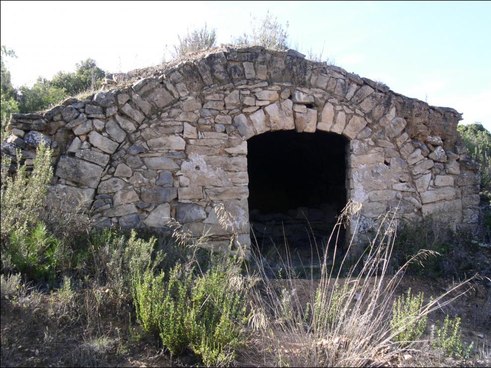 Una de las construcciones en piedra seca que se han incluido en esta ruta turística.