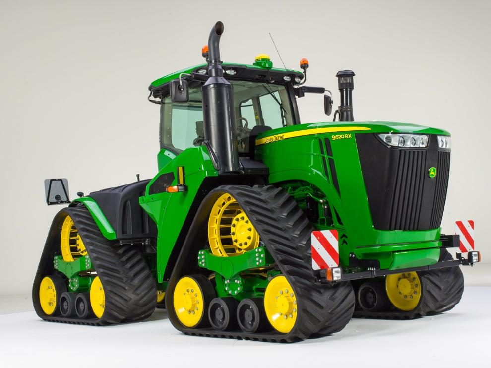 Se llama 9620RX y forma parte de la serie 9R9R/9RT diseñada por la multinacional estadounidense John Deere