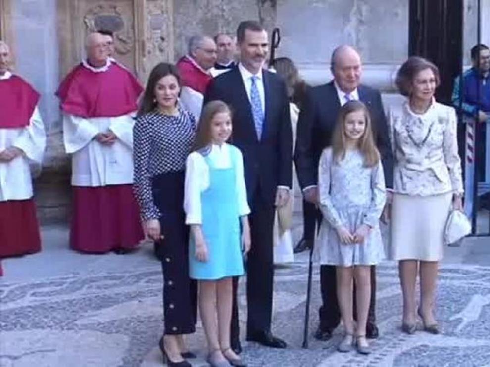 La Familia Real en una imagen de archivo.