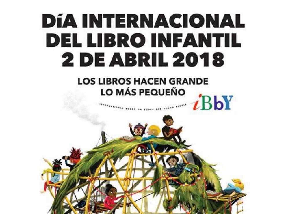 Cartel del Día Internacional del Libro Infantil
