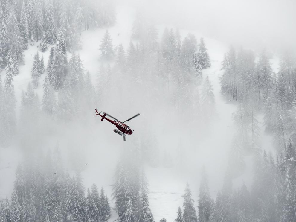 Avalancha mortal en Suiza.