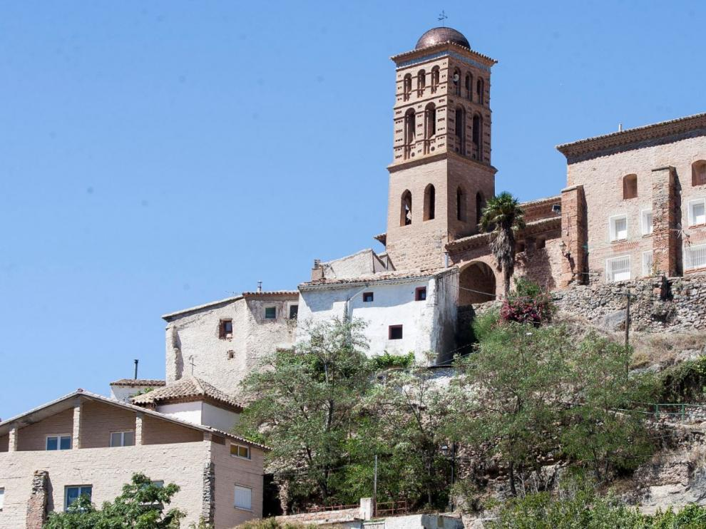 Colegiata de Calcena, uno de los valores patrimoniales que se visitarán en las Rutas de Primavera de la Comarca del Aranda.