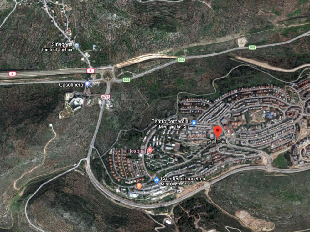 El asentamiento judío de Ariel