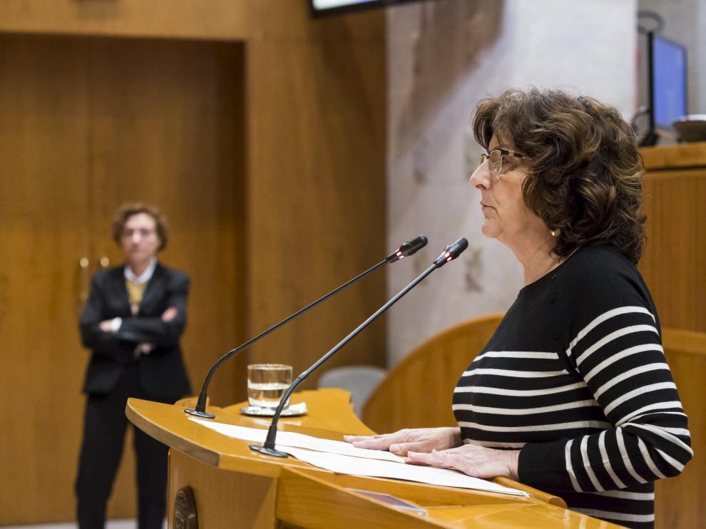 Mariví Broto, consejera de Ciudadanía y Derechos Sociales.