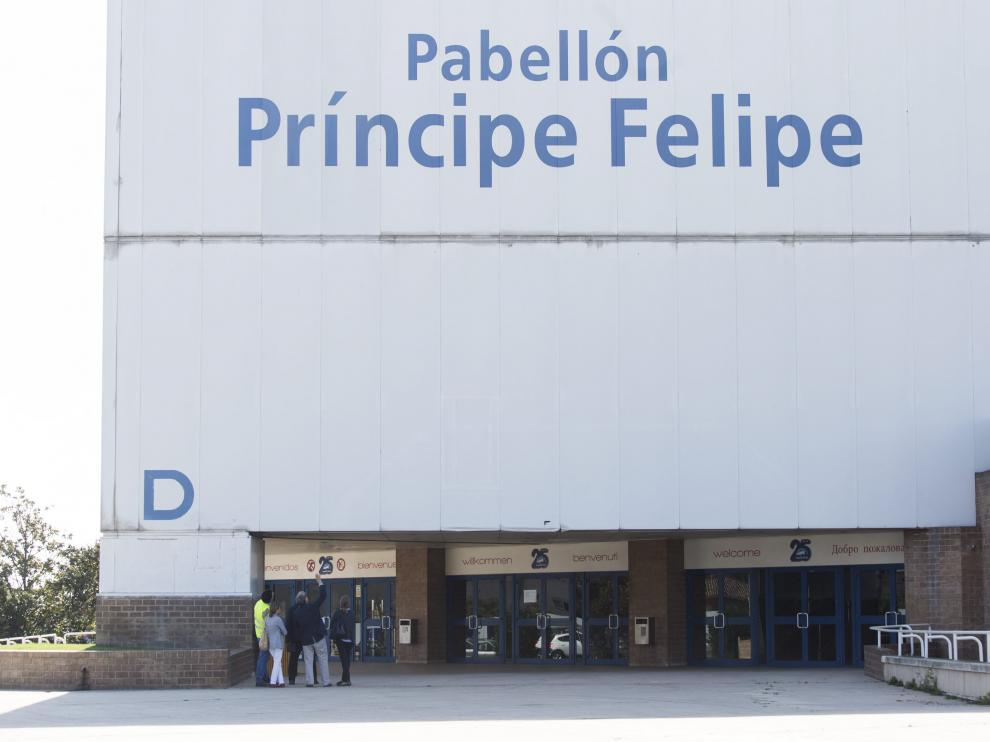 Fachada del Pabellón Príncipe Felipe.