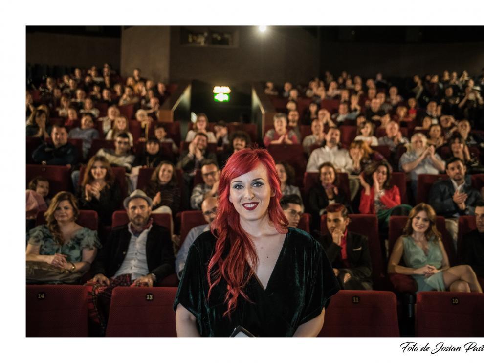 La sala 6 de los cines Palafox de la capital aragonesa albergó el estreno de 'La Marca' el pasado jueves, 5 de abril.