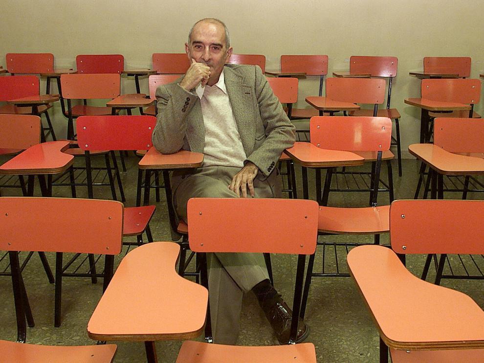 El sociólogo navarro Mario Gaviria Labarta, en una imagen de archivo.