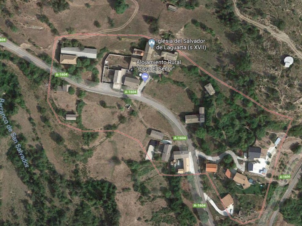 Localidad de Laguarta.
