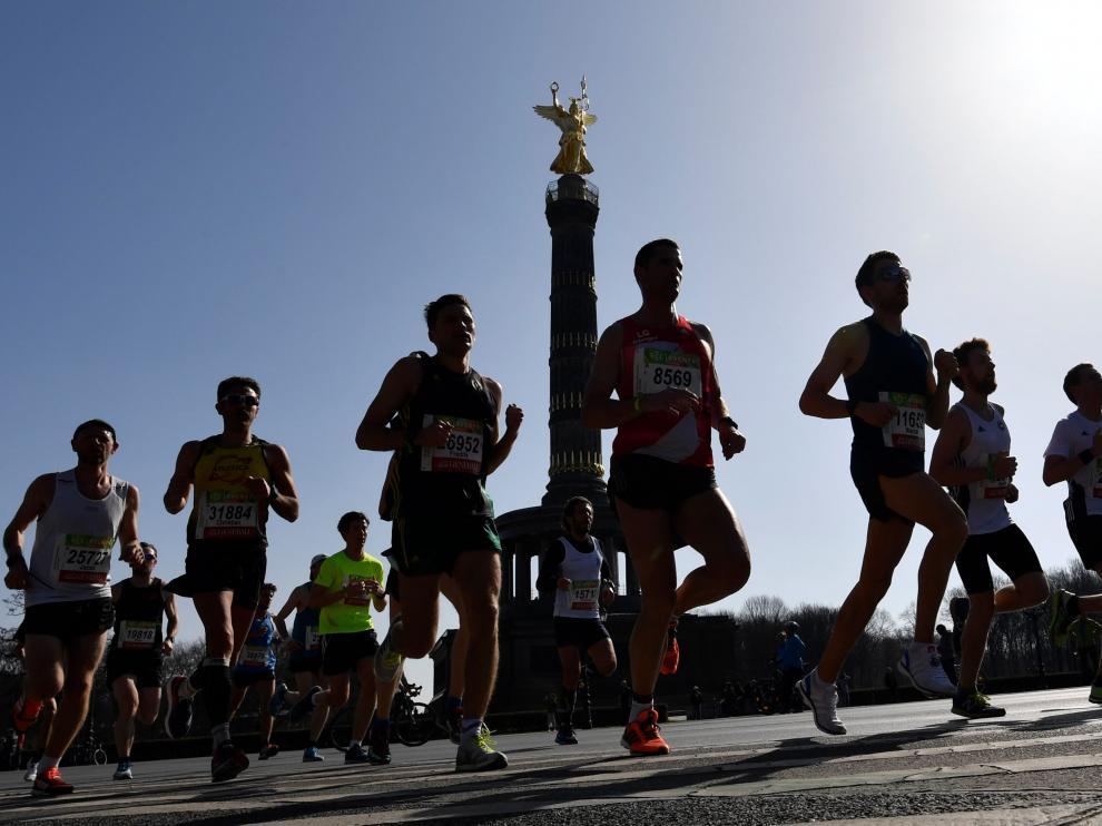 Media maratón de Berlín este domingo
