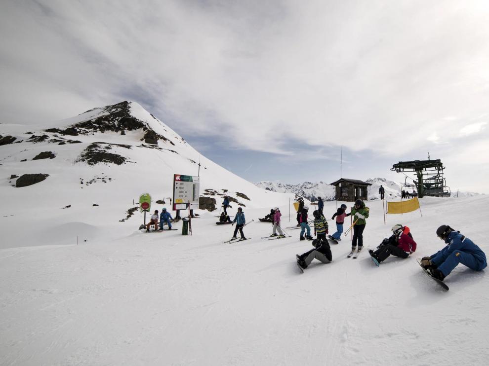 Imagen de archivo de la estación de esquí de Formigal