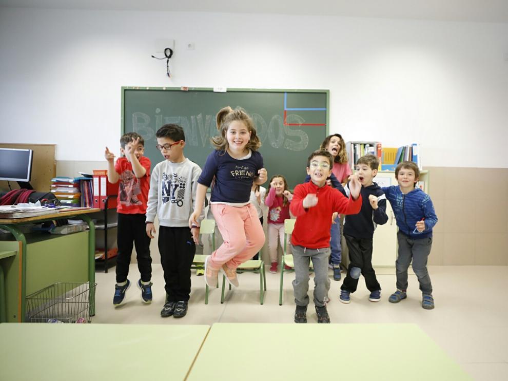 Estreno de las nuevas instalaciones educativas de Sobradiel.