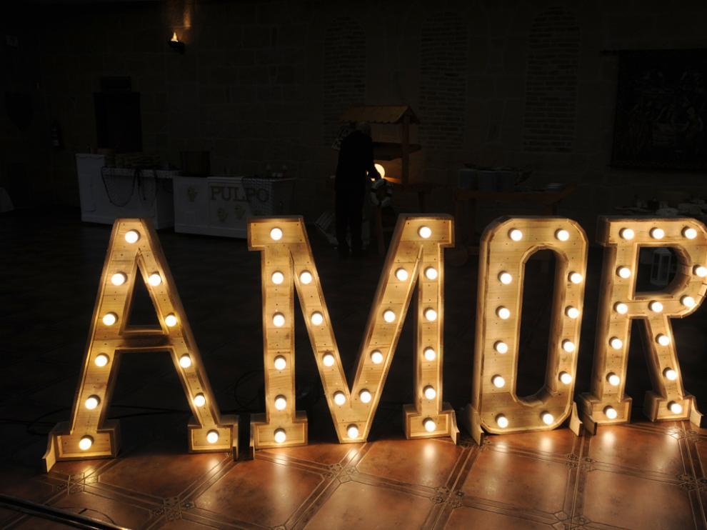 Las letras luminosas son una de las tendencias más representativas para este 2018.