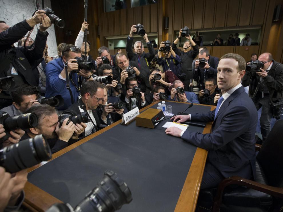 Marc Zuckerberg, este martes ante el Senado de EE. UU.