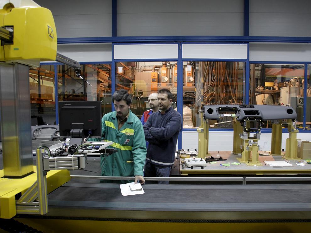 Imágen de archivo de la planta de Cefa en Malpica