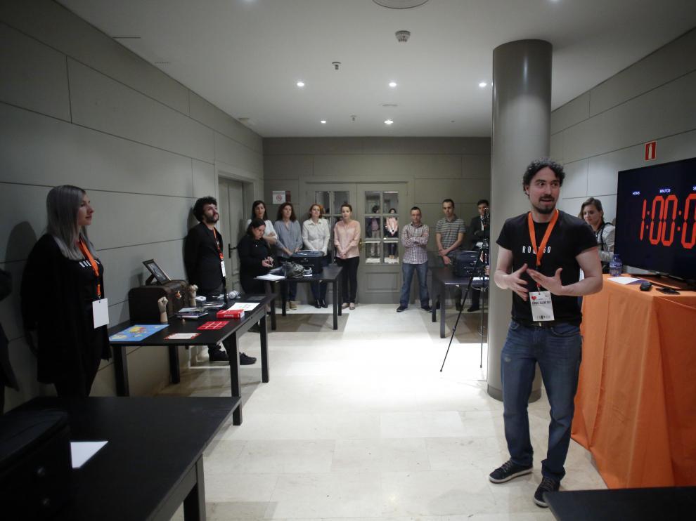 Un 'escape room' en la edición pasada del Kühnel Talent Day.