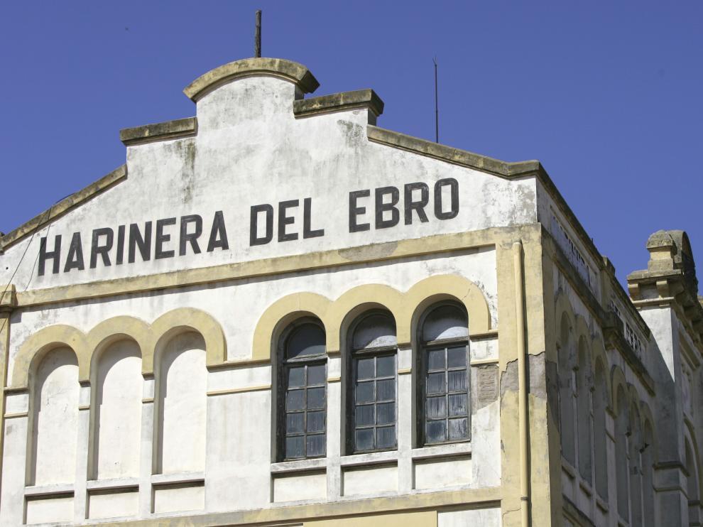 Harinera del Ebro de Casetas en 2007. José Miguel Marco.
