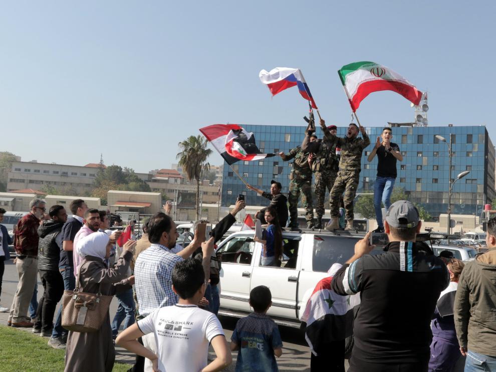 Desde el comienzo del conflicto en Siria, en marzo de 2011, el presidente, Bachar al Asad, ha contado con Rusia e Irán como aliados.