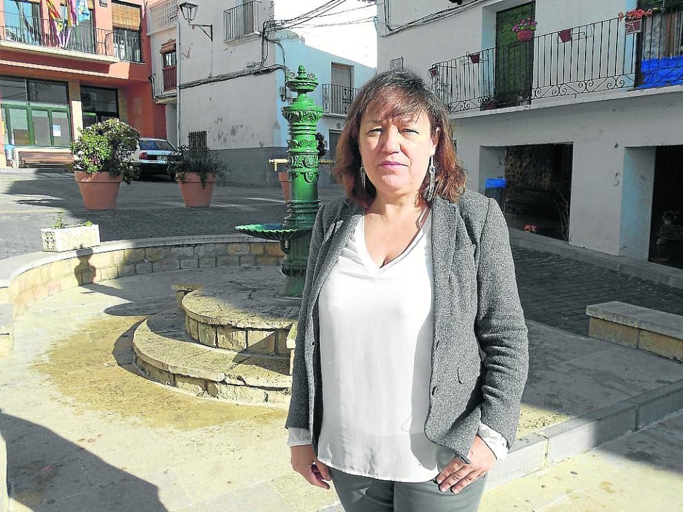 La alcaldesa de Torrellas, Pilar Pérez (PSOE), está al frente del Ayuntamiento desde 1999.