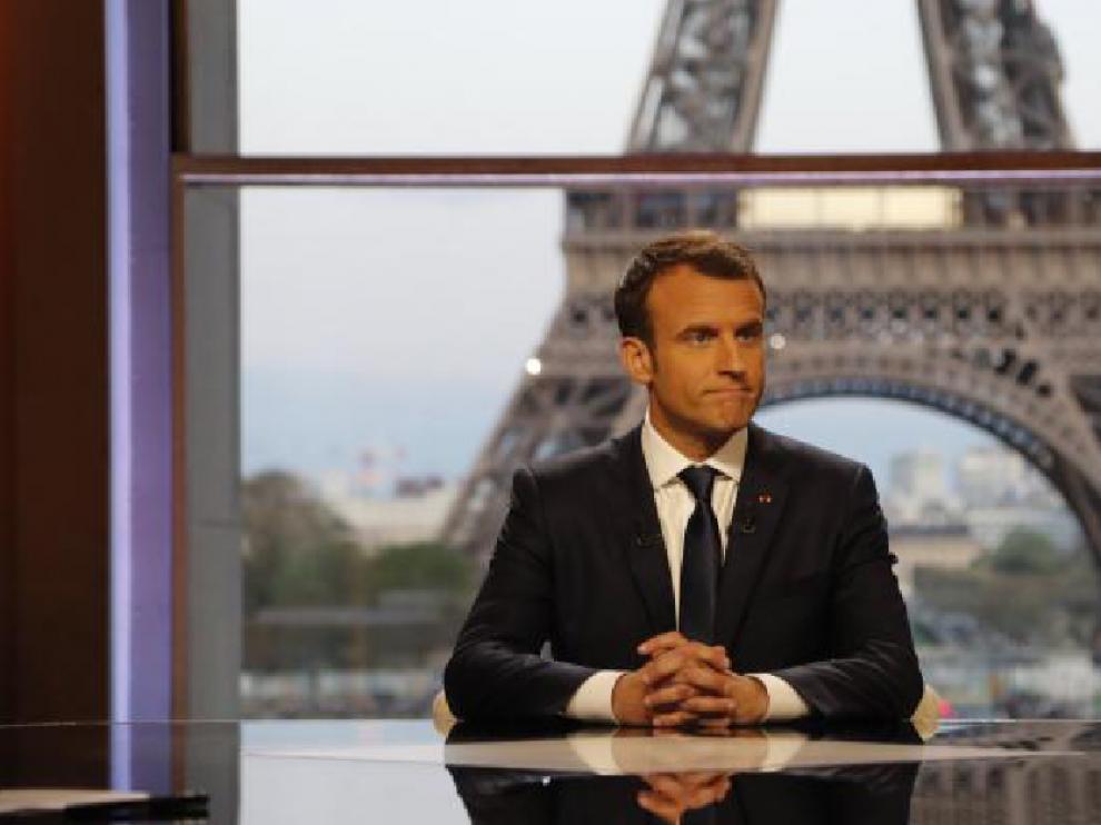 "Macron afirma que Francia ""no ha declarado la guerra a Siria"""