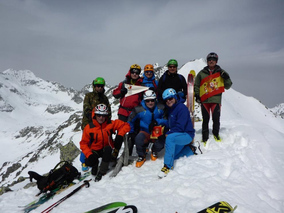 Los veteranos del Grupo Militar de Alta Montaña en los Tatras