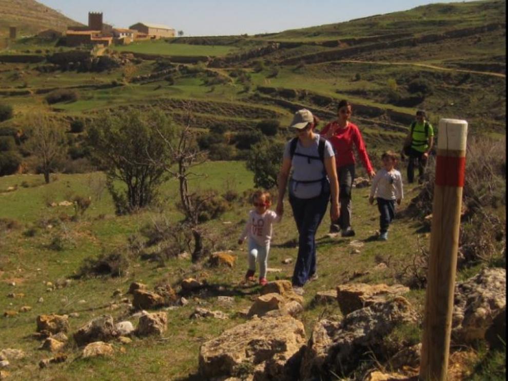 Senderismo con niños por la comarca del Maestrazgo.
