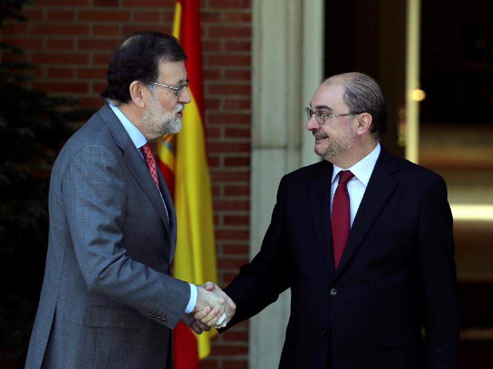 Lambán, favorable a que Rajoy pacte en nombre de Cataluña una nueva financiación