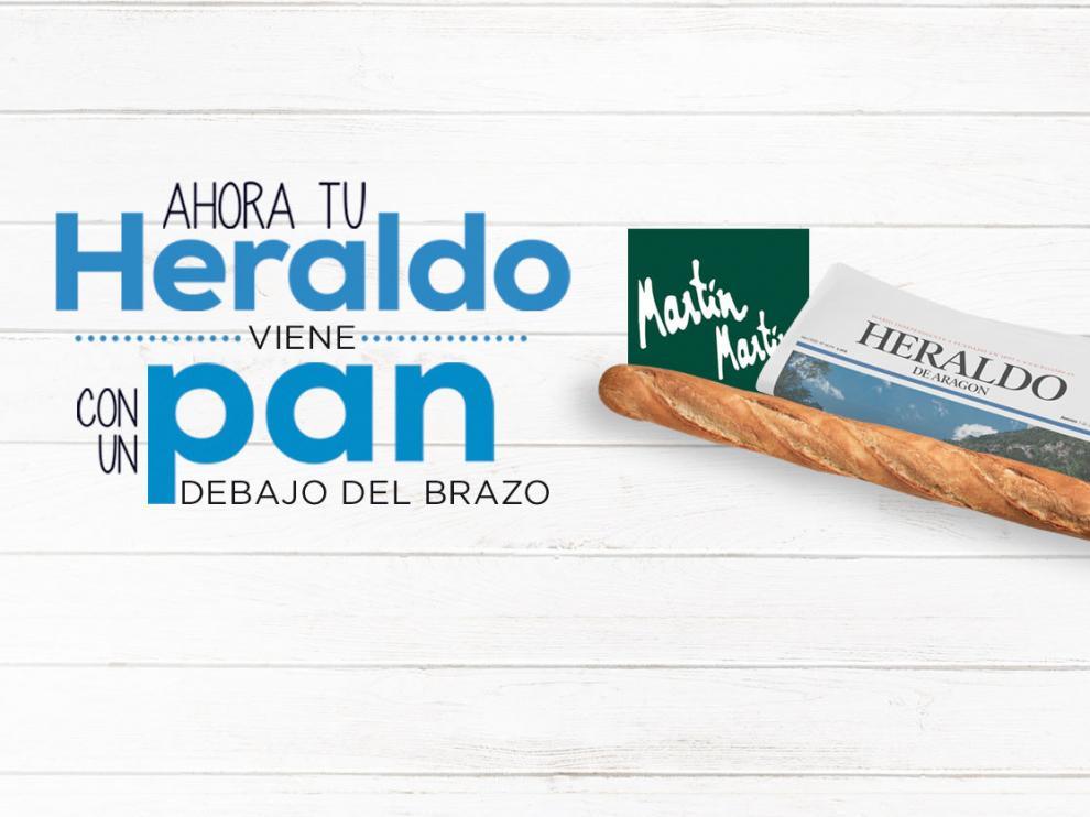Llévate la mejor combinación del fin de semana: el periódico y el pan del día, con la app 'Mi Heraldo'.