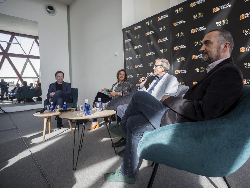 De izquierda a derecha: Alberto Artigas, Mayte Pérez, Plácido Serrano y Joaquín Pardinilla.