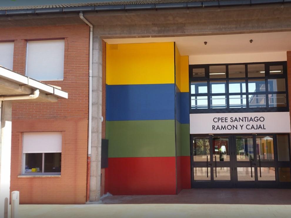 La fachada del centro escolar, en una imagen de Google Maps.