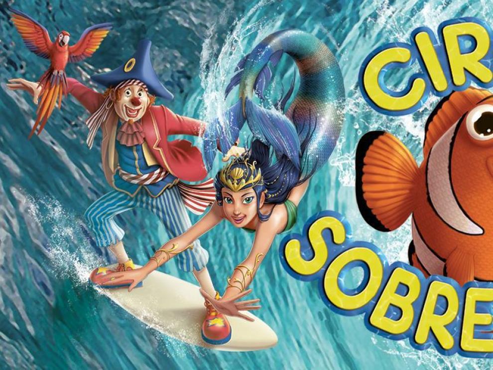 El Circo Alegría actuará del 20 de abril al 13 de mayo en Zaragoza.