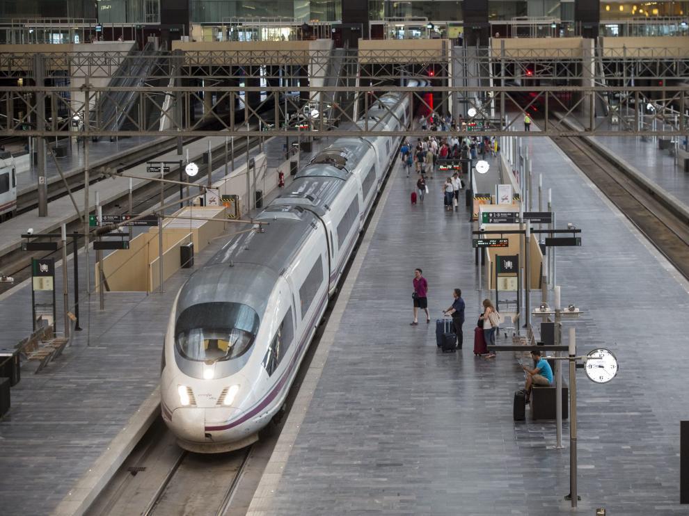 Estación intermodal de Zaragoza.