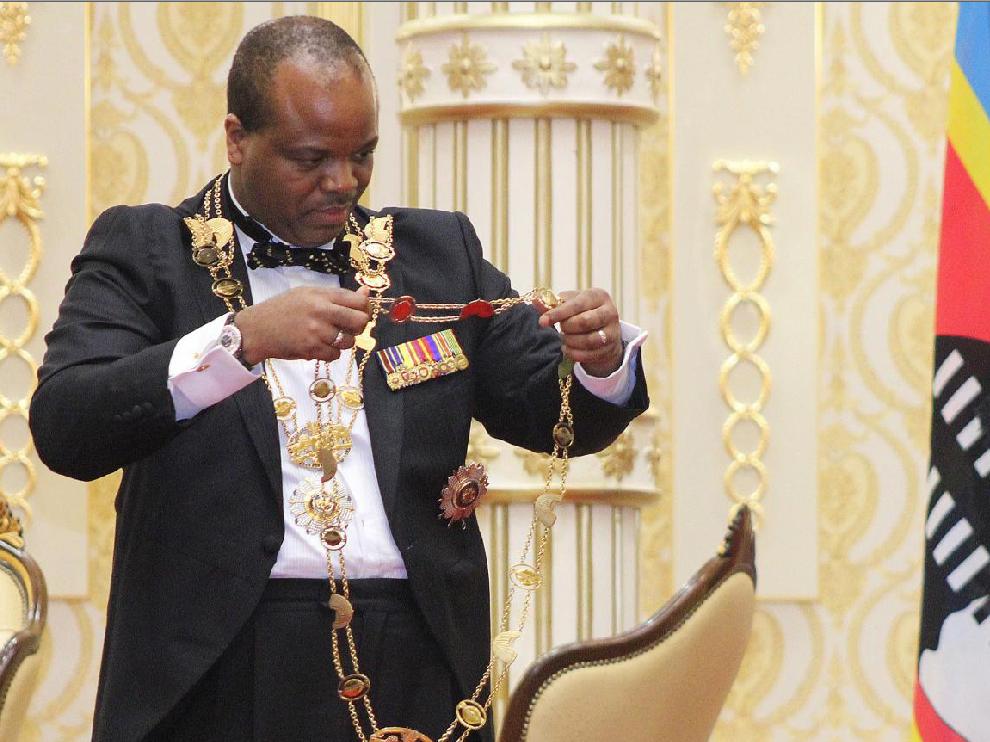 El rey de Suazilandia cambia el nombre oficial del país