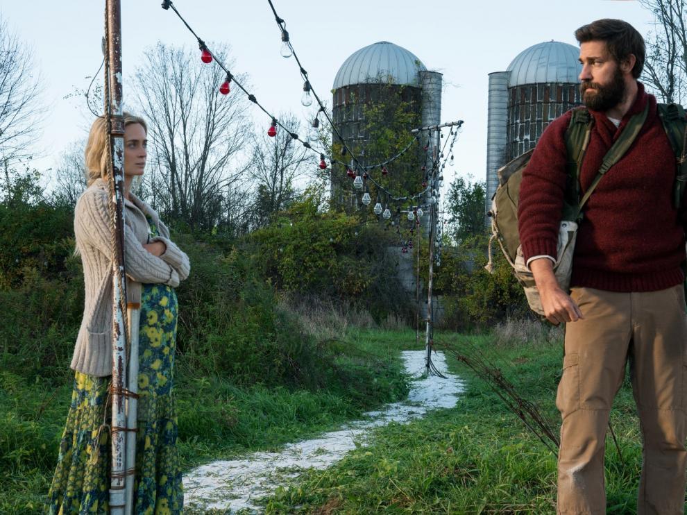 'Un lugar tranquilo' está protagonizada por Emily Blunt y John Krasinski.