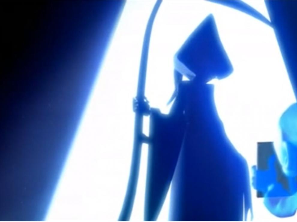 Escena de 'La Dama y la Muerte', uno de los cortos del ciclo