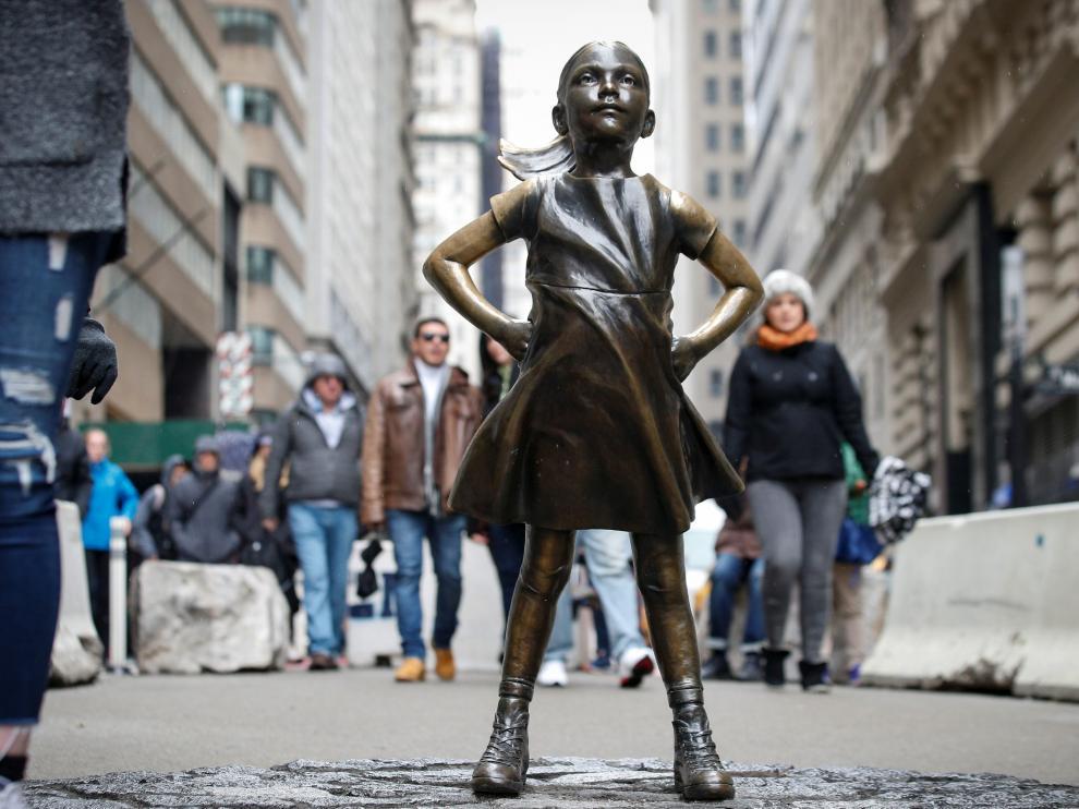La 'Niña sin miedo' será colocada en la sede de la Bolsa de Nueva York.