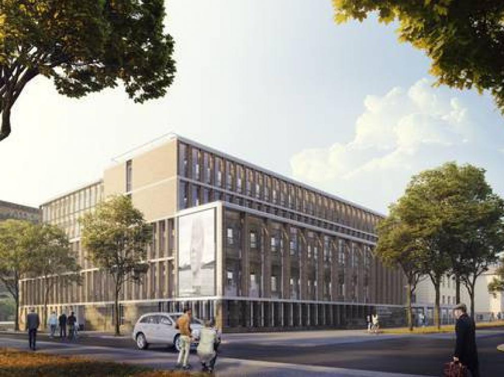 Así será la nueva Facultad de Filosofía y Letras de la Universidad de Zaragoza