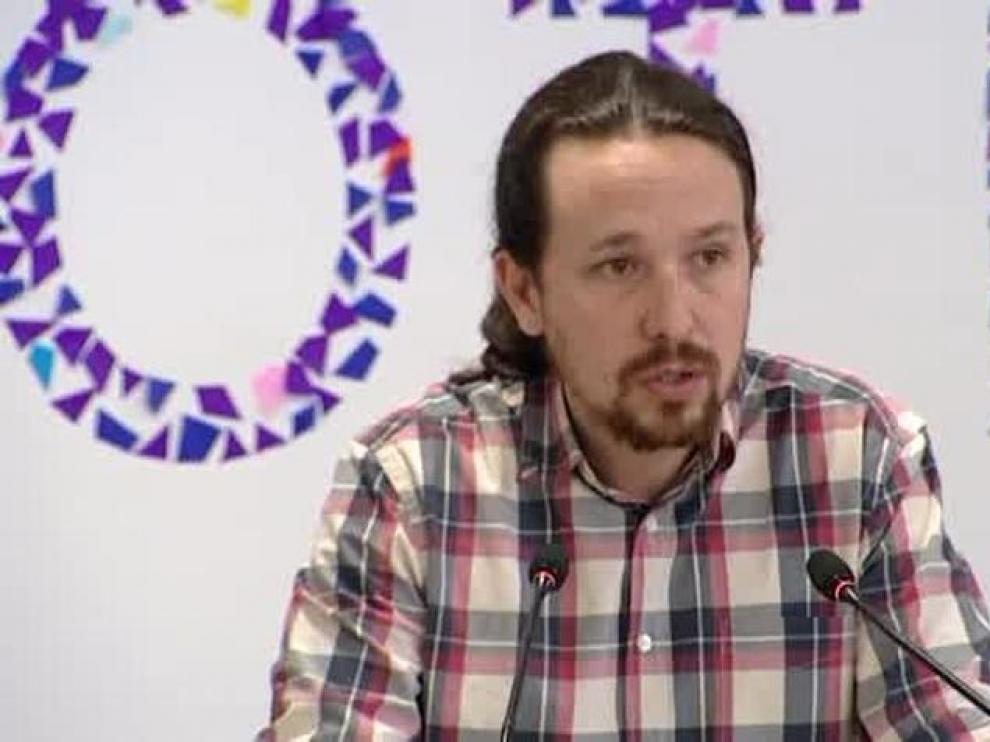 Iglesias presenta a Errejón como candidato a la Comunidad de Madrid