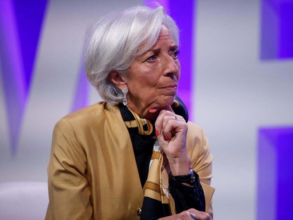 Christine Lagarde, directora del Fondo Monetario Internacional.