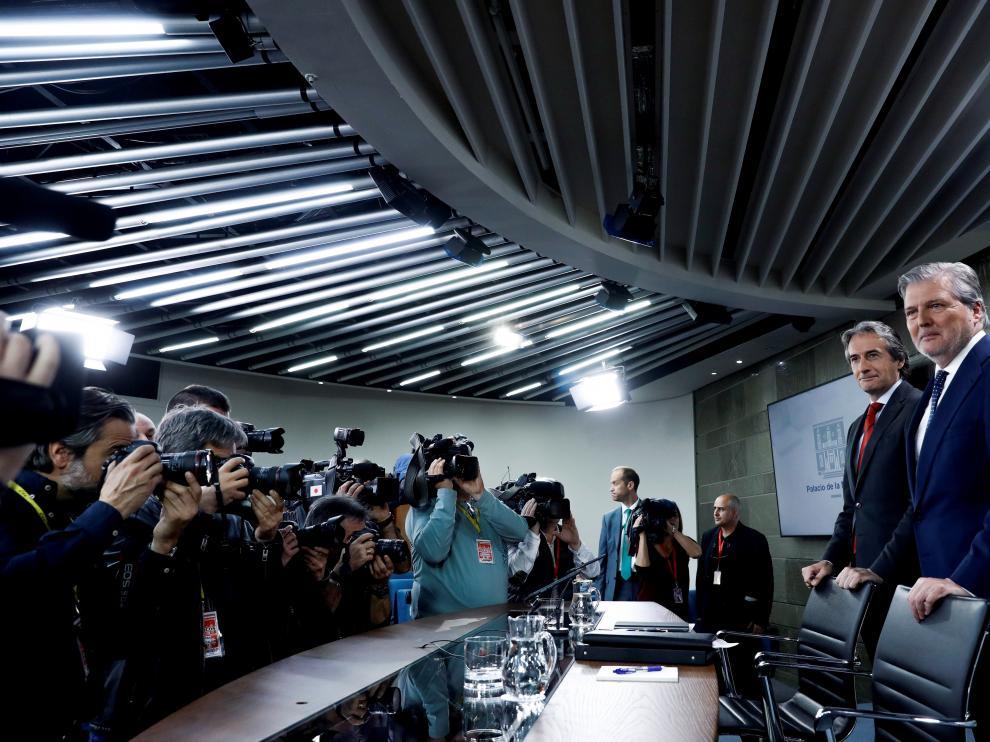 """El Gobierno, espera el informe final de daños por la crecida del Ebro, """"no tan duros"""" como en 2015"""