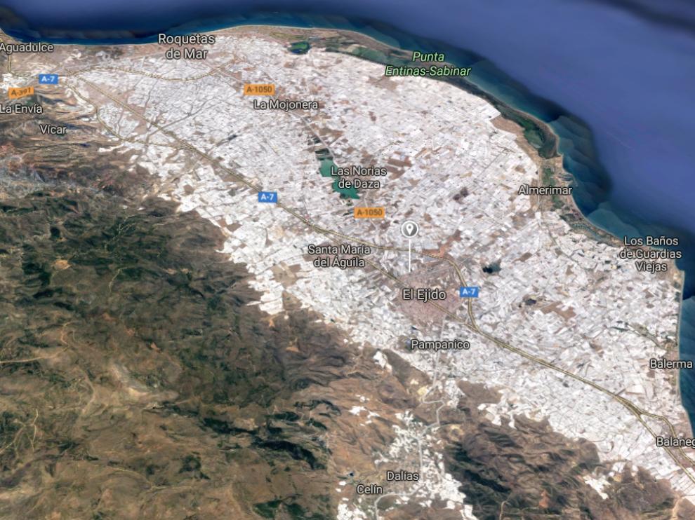 Los hechos han ocurrido en la calle del Mar de Balerma