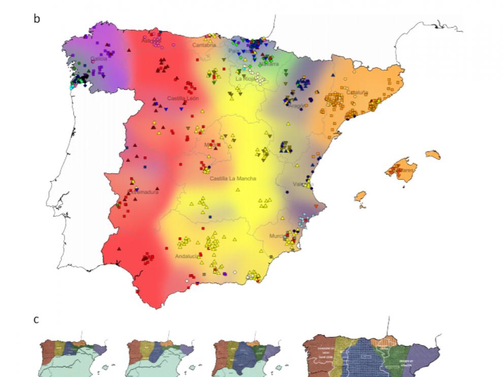 Mapa genético de España