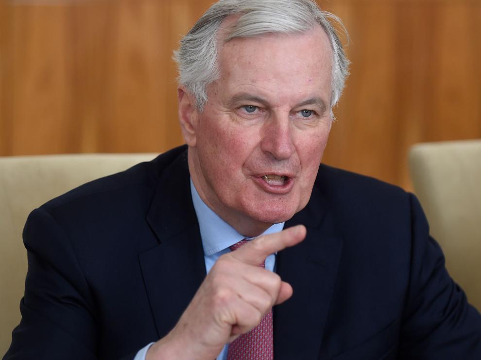 Michel Barnier, negociador de la Unión Europea para el 'brexit'.