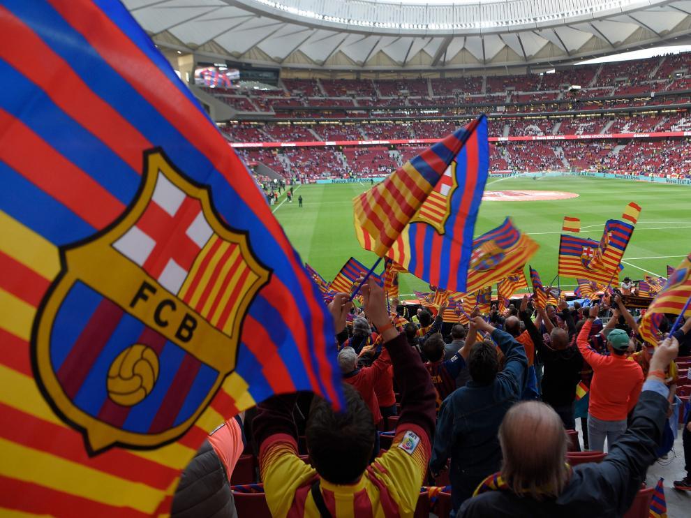 Las mejores imágenes de la final de Copa entre el Barcelona y el Sevilla