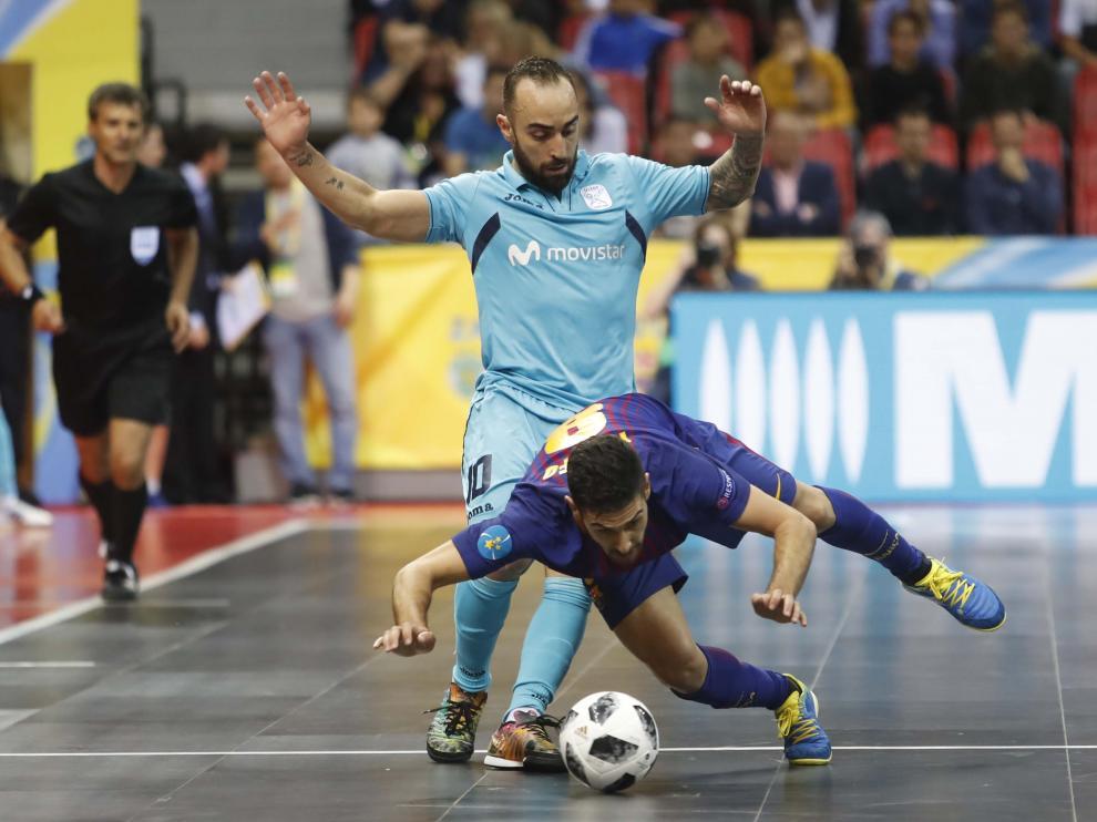 Semifinales de la UEFA Futsal Cup en Zaragoza