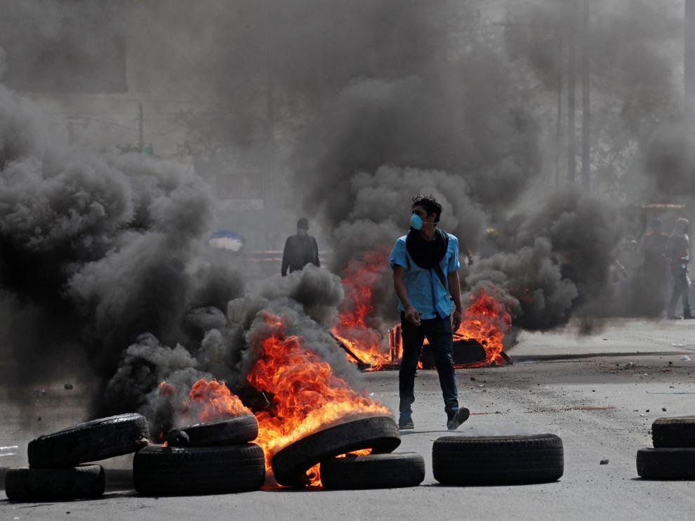 Protestas esta semana en Nicaragua