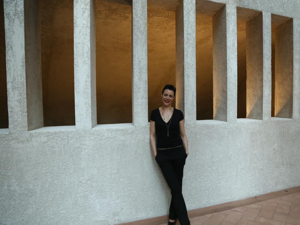 La compositora jaquesa Yolanda Campos Bergua.