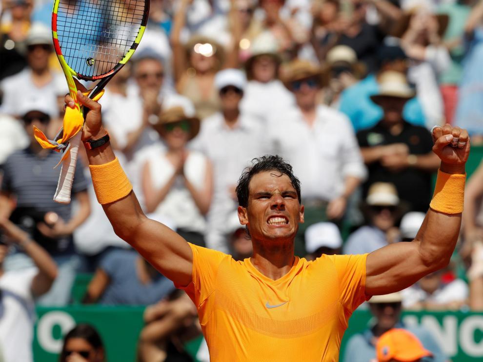 Nadal gana a Dimitrov y buscará su undécimo título monegasco